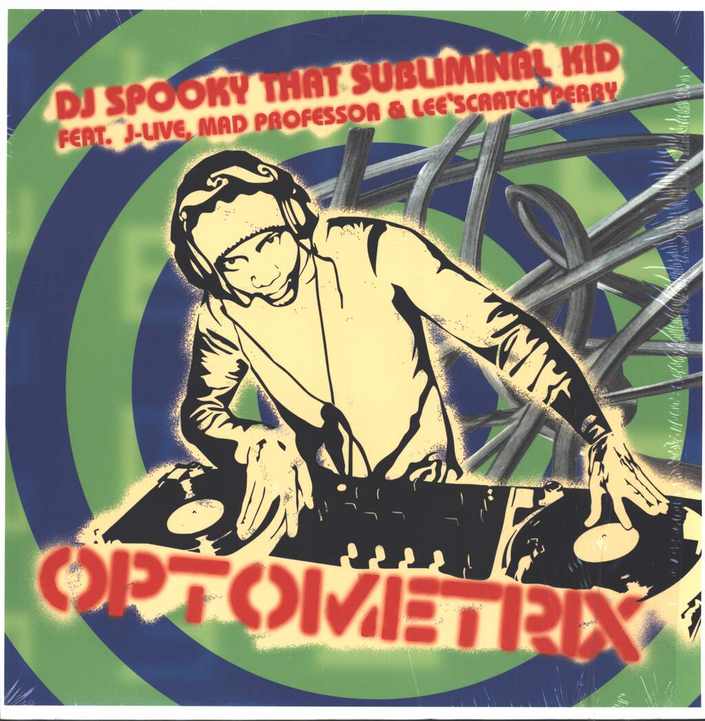 "DJ Spooky: Optometrix, 12"" Maxi Single (Vinyl)"