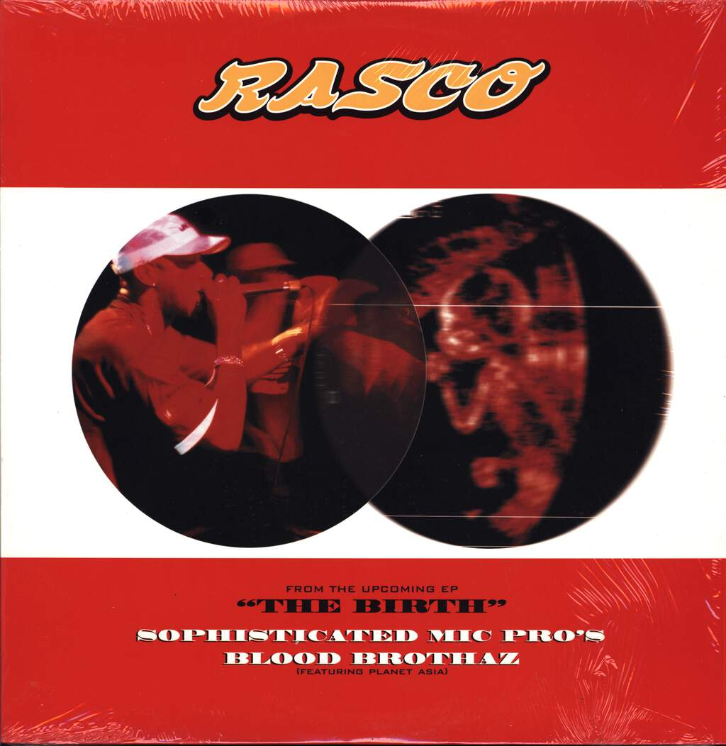 "Rasco: Sophisticated Mic Pro's / Blood Brothaz, 12"" Maxi Single (Vinyl)"