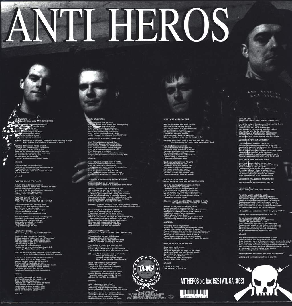 Anti-Heros: American Pie, LP (Vinyl)