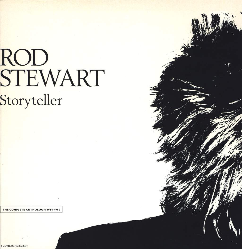 Rod Stewart: Storyteller - The Complete Anthology: 1964 - 1990, CD