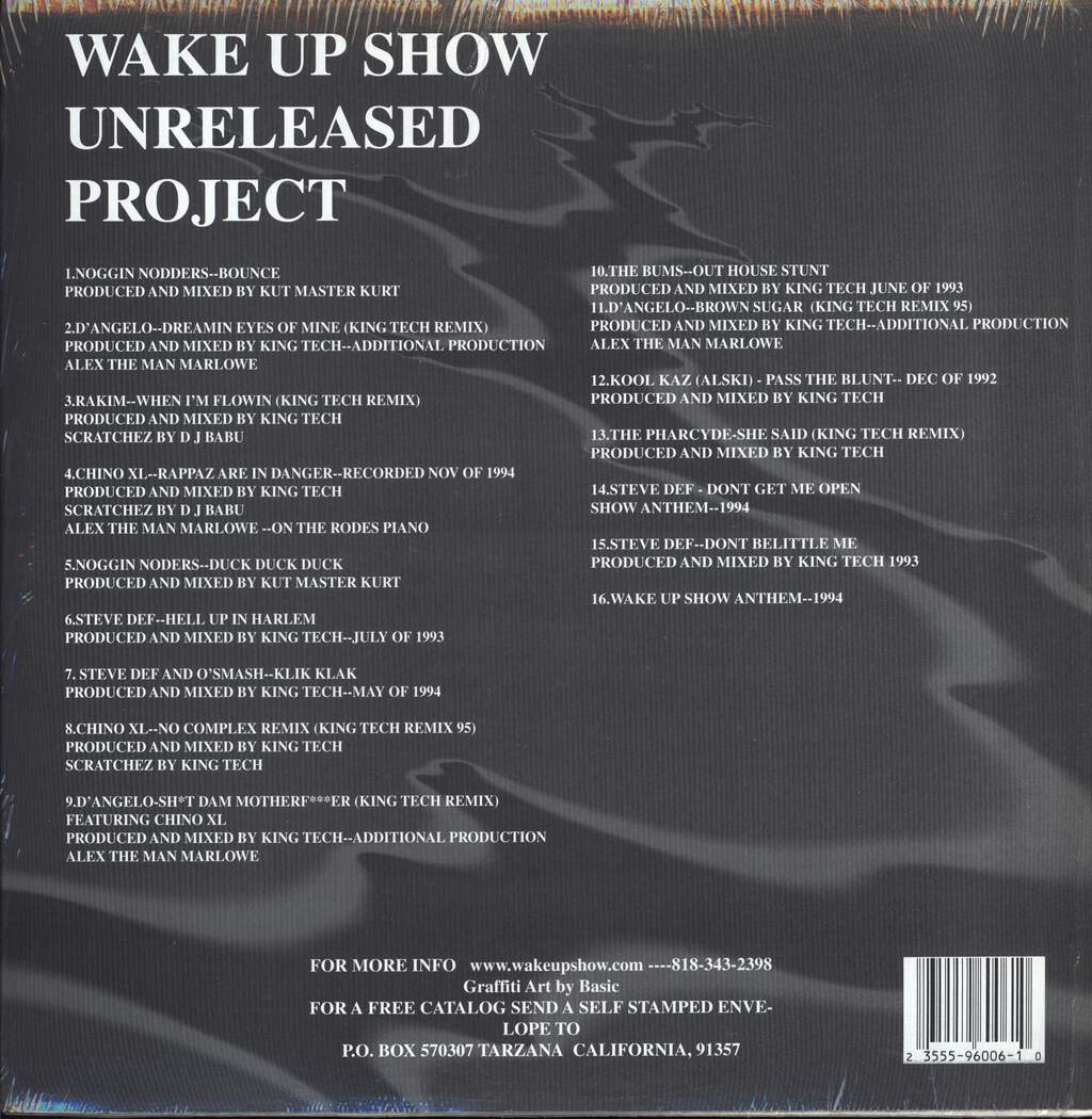 Various: Wake Up Show Unreleased Project, LP (Vinyl)