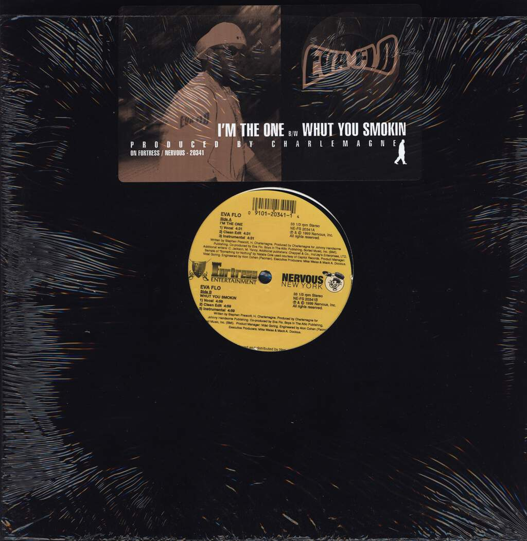 "Eva Flo: I'm The One / Whut You Smokin, 12"" Maxi Single (Vinyl)"