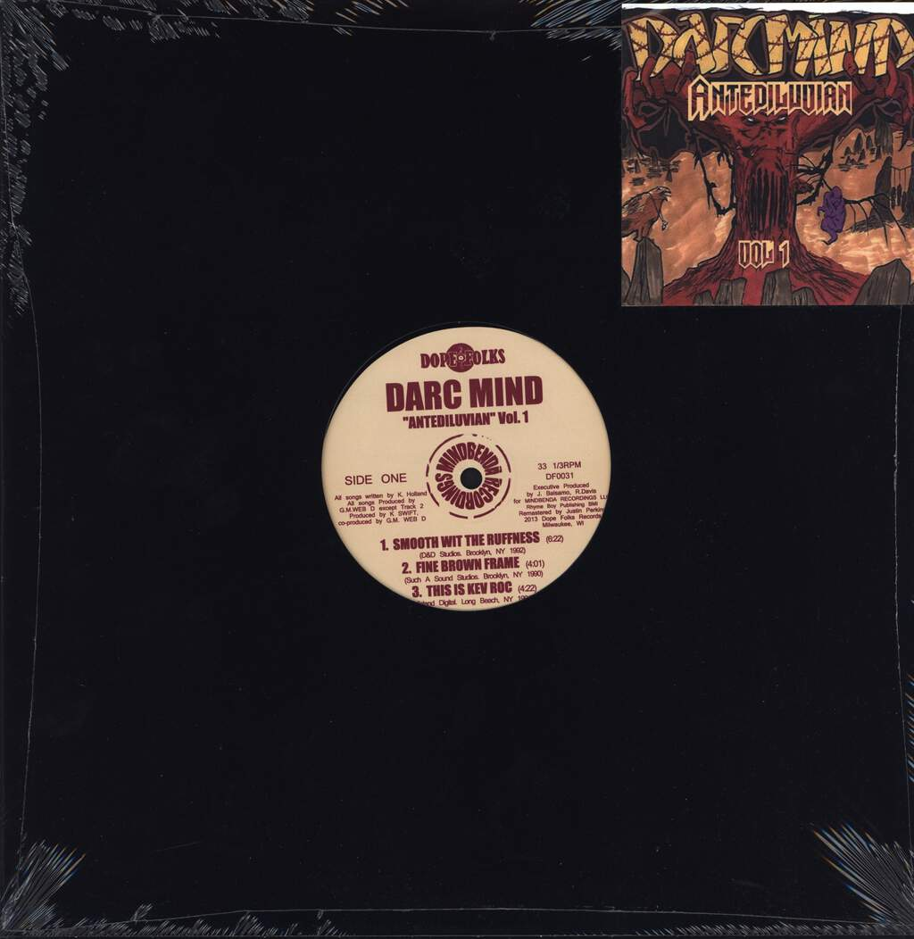 "Darc Mind: Antediluvian Vol. 1, 12"" Maxi Single (Vinyl)"
