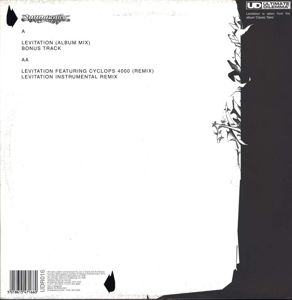 "Runaways: Levitation, 12"" Maxi Single (Vinyl)"