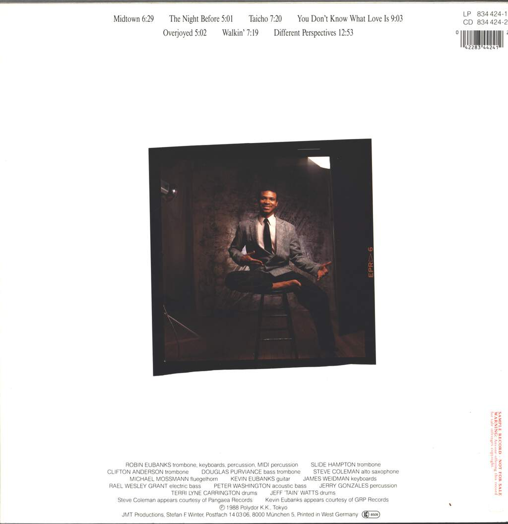 Robin Eubanks: Different Perspectives, LP (Vinyl)