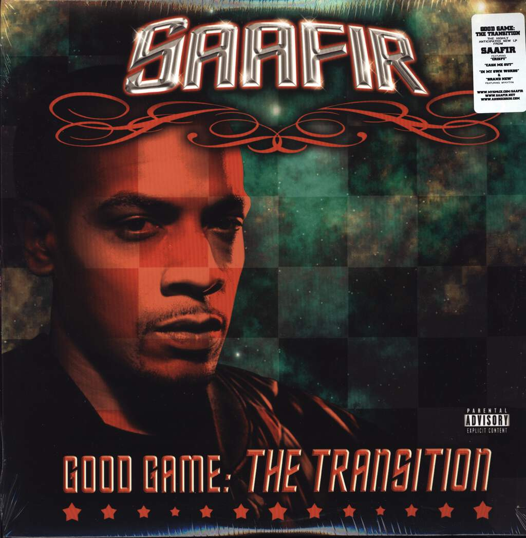 Saafir: Good Game: The Transition, LP (Vinyl)