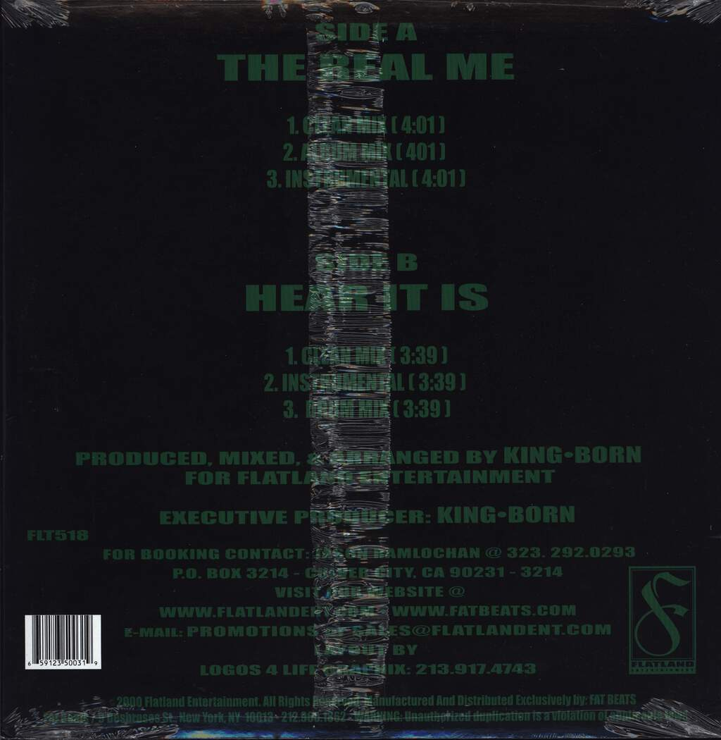"Erule: The Real Me / Here It Is, 12"" Maxi Single (Vinyl)"