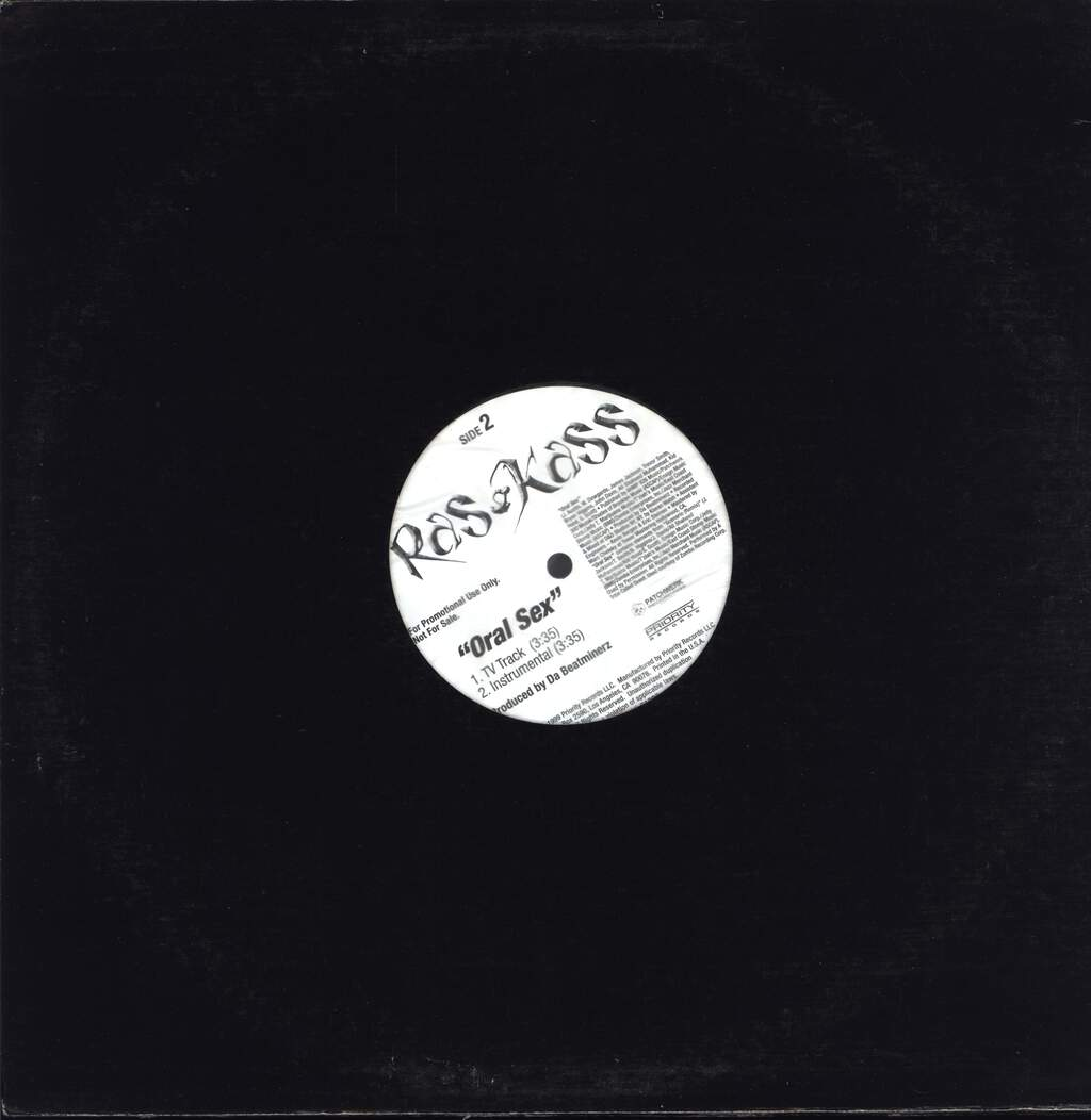 "Ras Kass: Oral Sex, 12"" Maxi Single (Vinyl)"