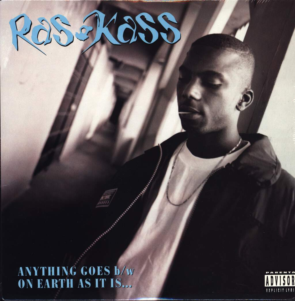 "Ras Kass: Anything Goes / On Earth As It Is, 12"" Maxi Single (Vinyl)"