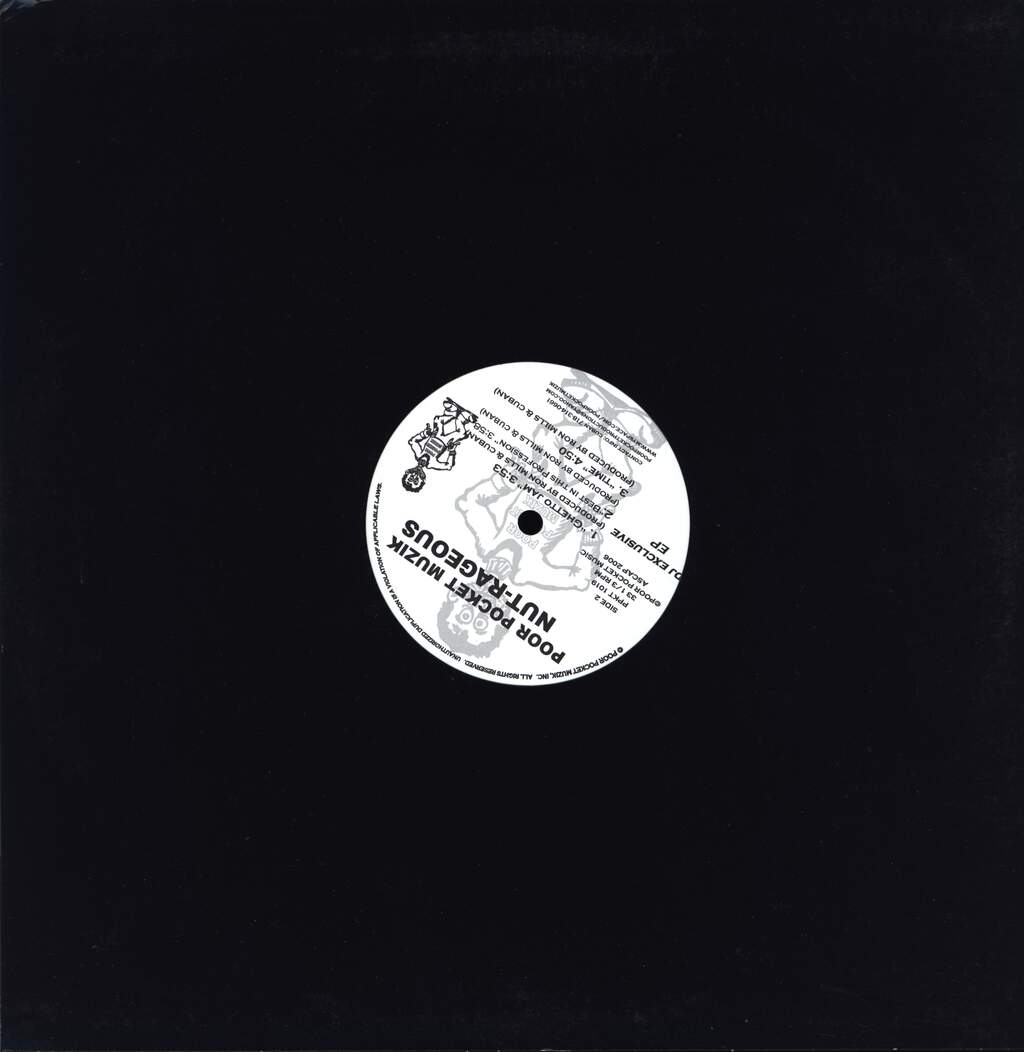 "Nut-rageous: Nut-rageous Dj Exclusive E.P., 12"" Maxi Single (Vinyl)"