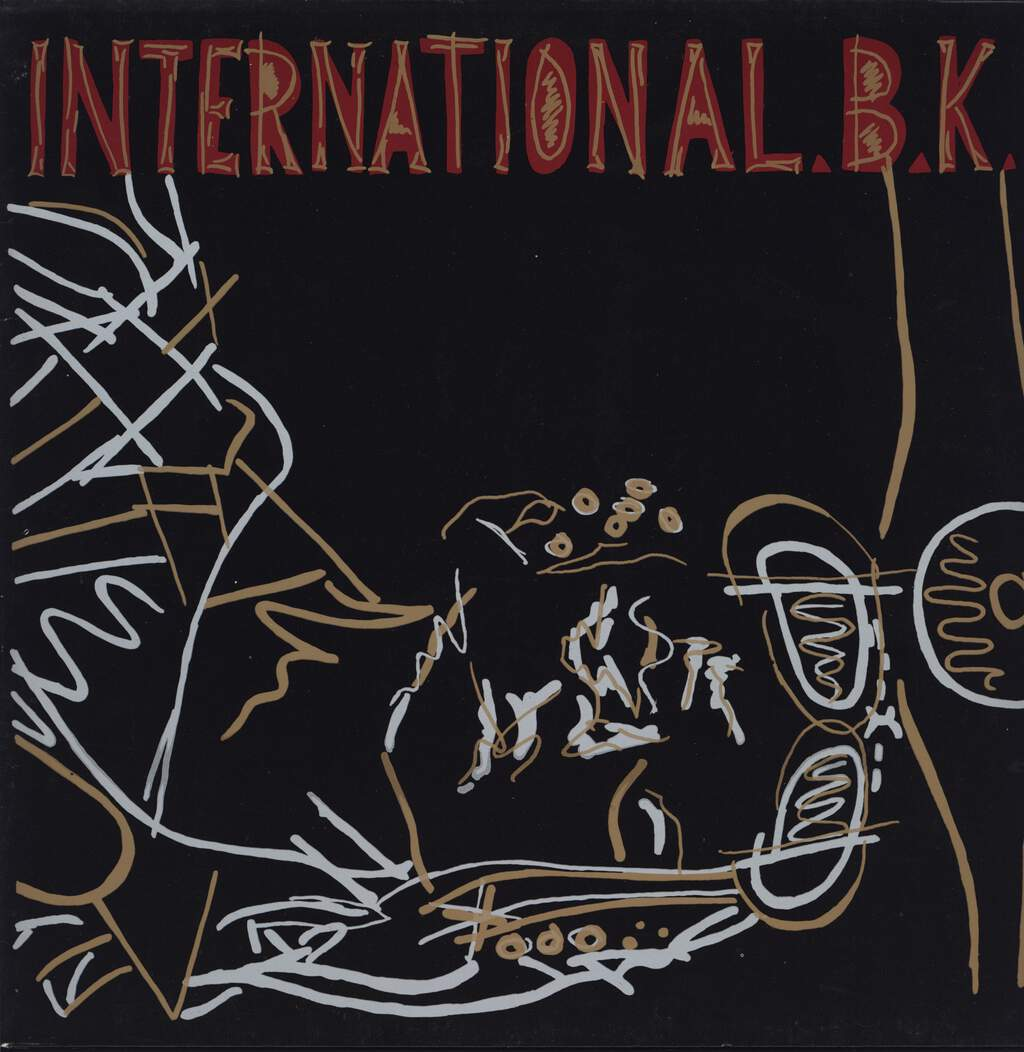 "International B.K.: International.B.K., 12"" Maxi Single (Vinyl)"