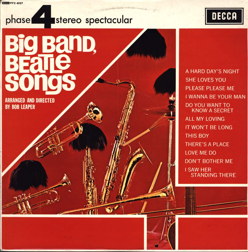 Bob Leaper: Big Band Beatle Songs, LP (Vinyl)