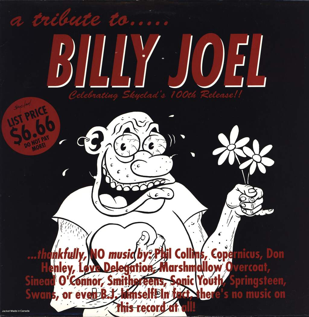 No Artist: A Tribute To..... Billy Joel, LP (Vinyl)