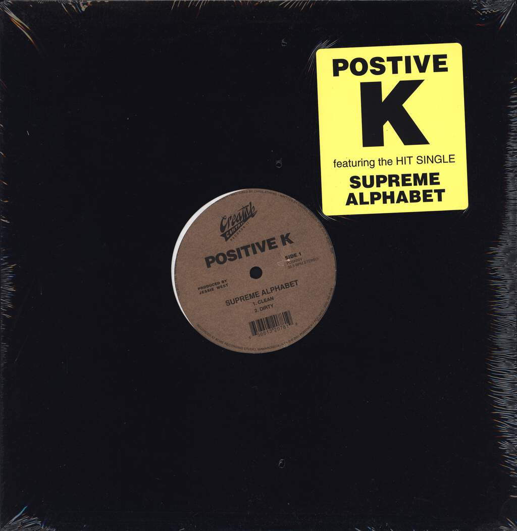 "Positive K: Supreme Alphabet, 12"" Maxi Single (Vinyl)"