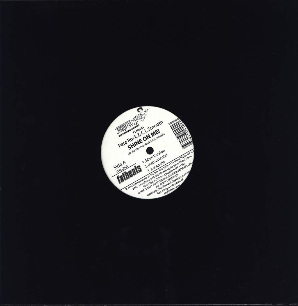 "Pete Rock & C.L. Smooth: Shine On Me / Climax, 12"" Maxi Single (Vinyl)"