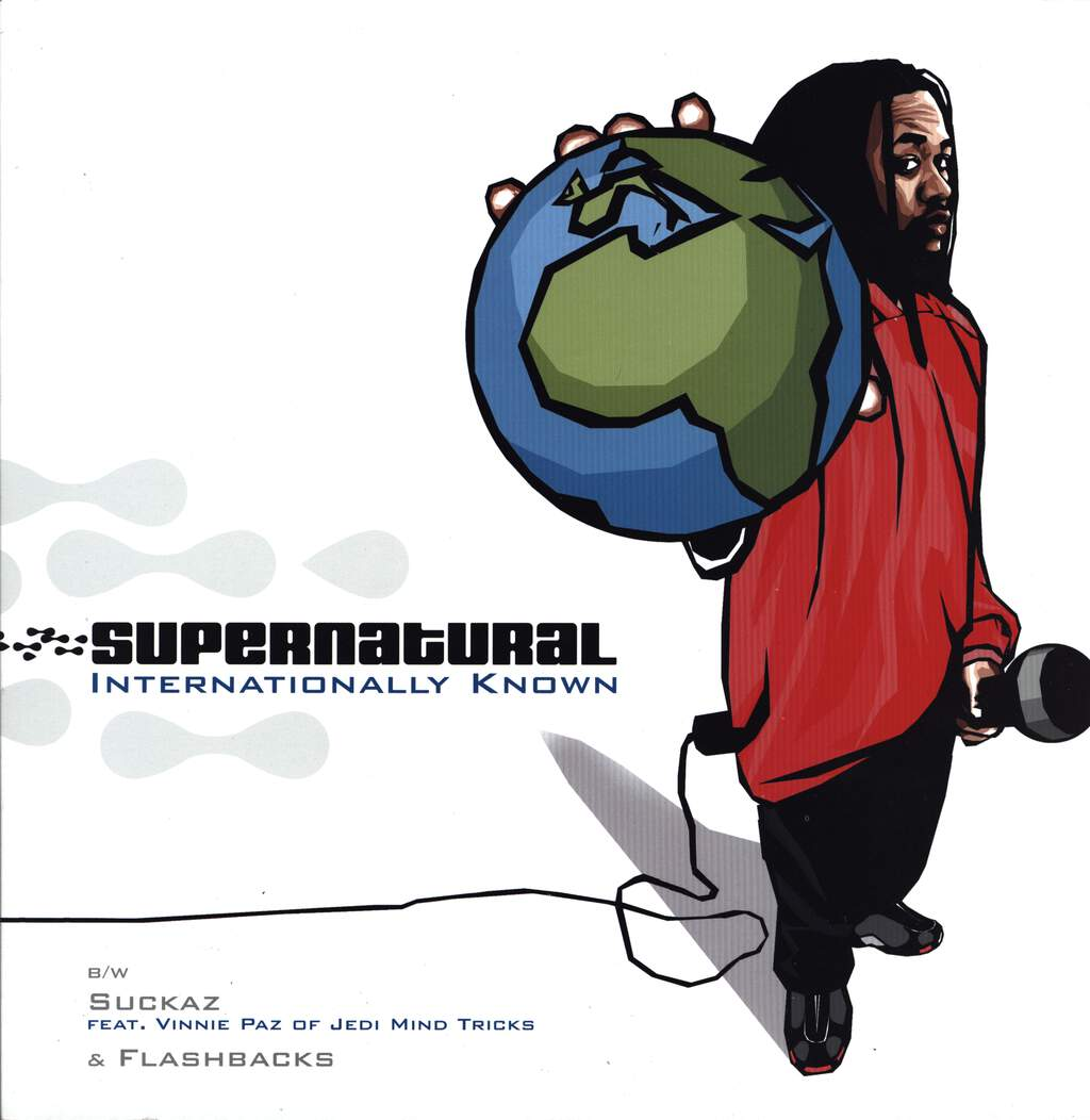 "Supernatural: Internationally Known, 12"" Maxi Single (Vinyl)"
