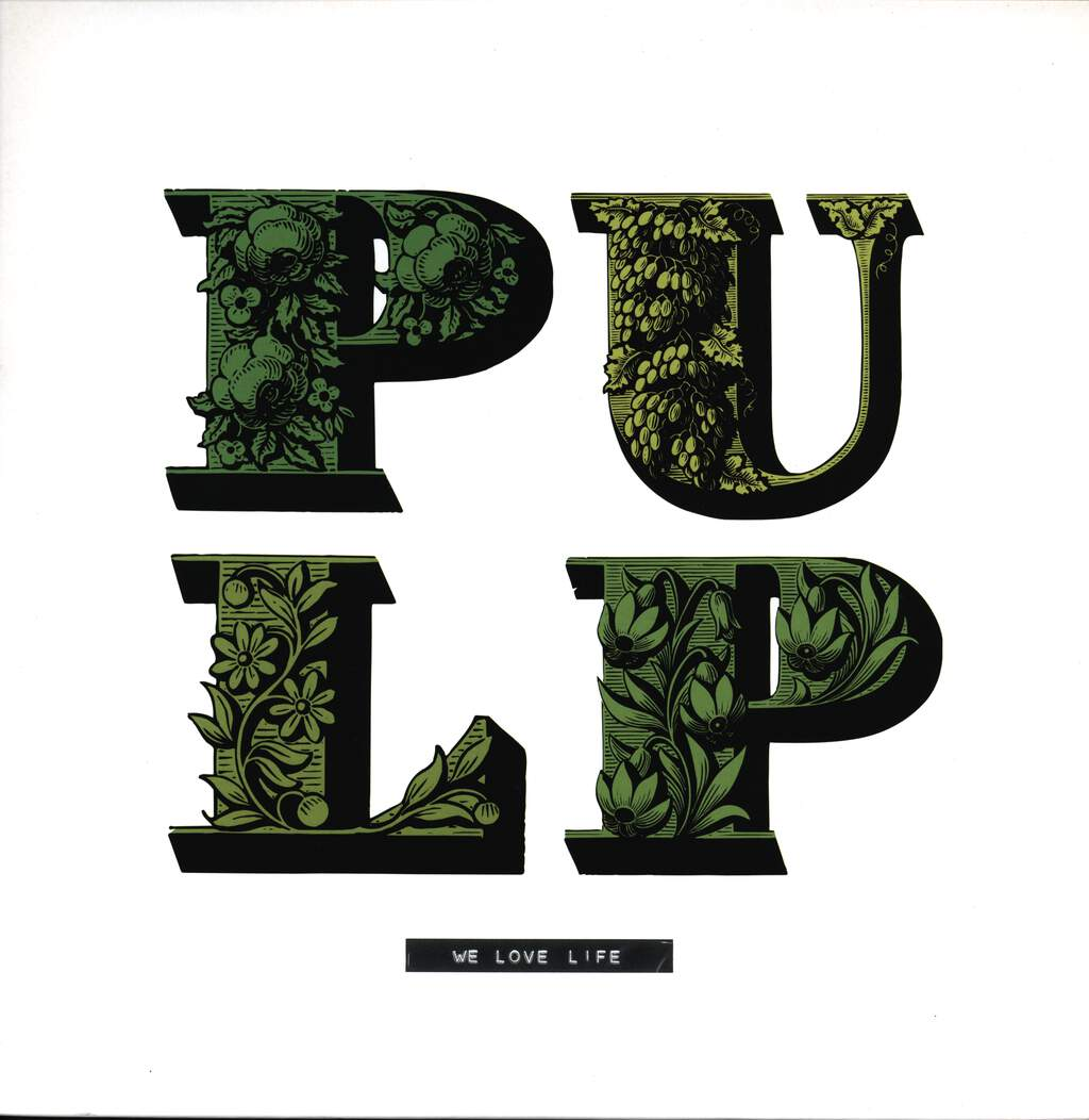 Pulp: We Love Life, LP (Vinyl)