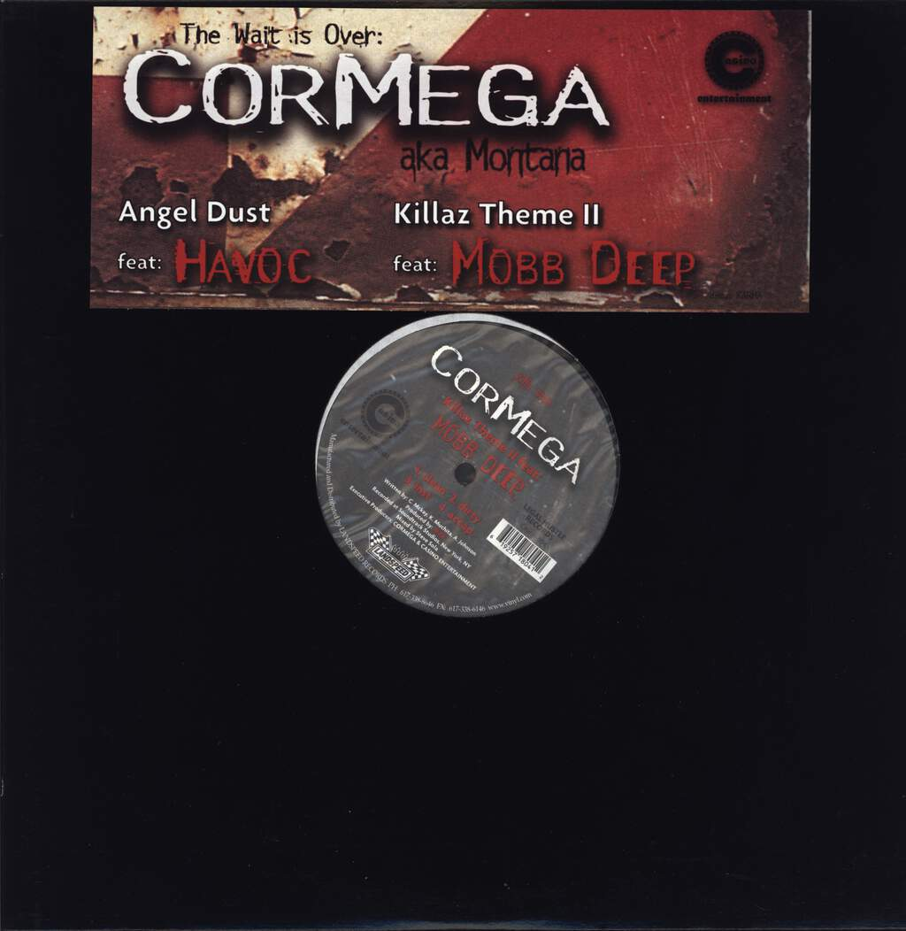 "Cormega: Angel Dust / Killaz Theme II, 12"" Maxi Single (Vinyl)"
