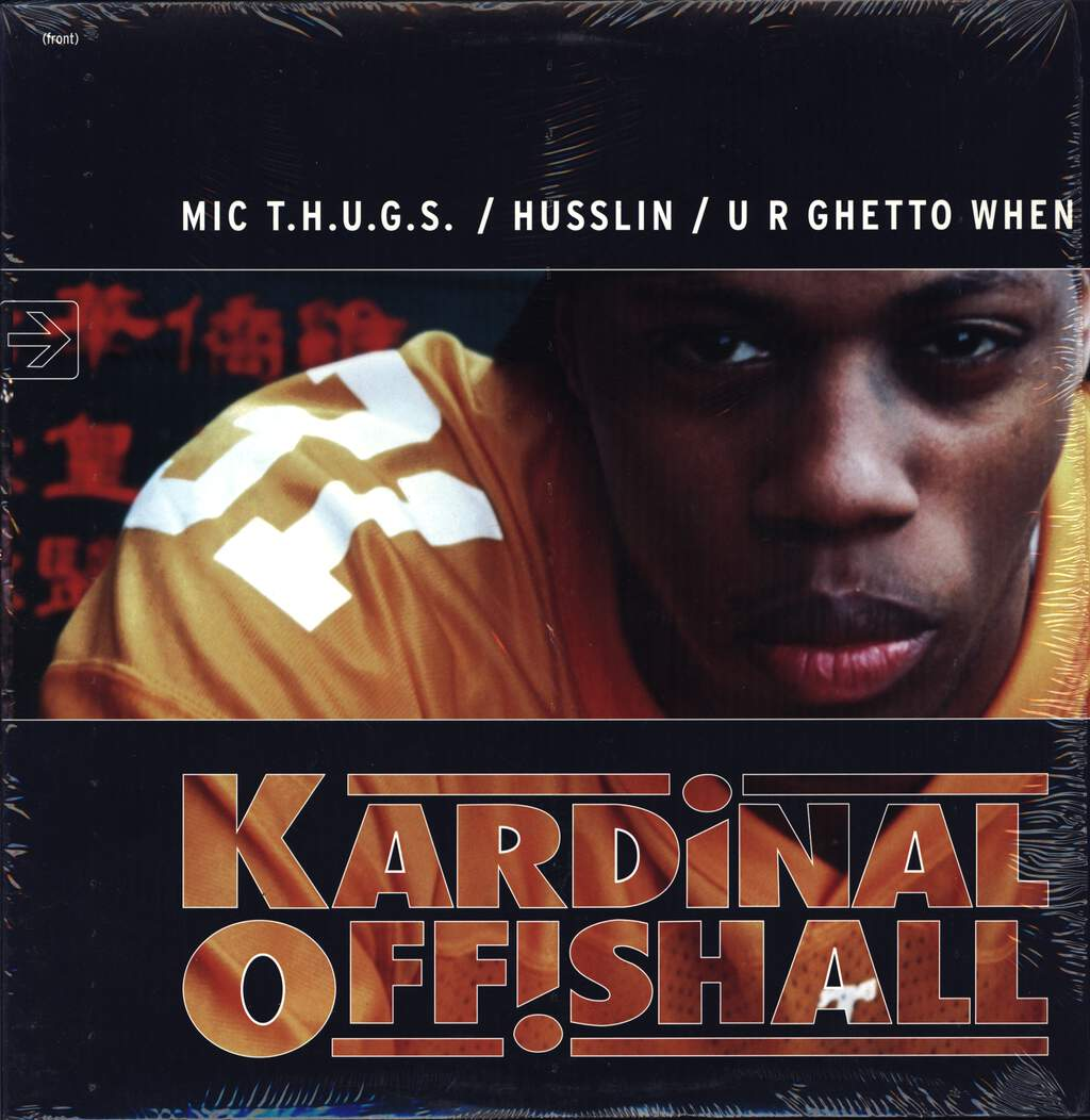 "Kardinal Offishall: MIC T.H.U.G.S. / Husslin' / U R Ghetto When, 12"" Maxi Single (Vinyl)"
