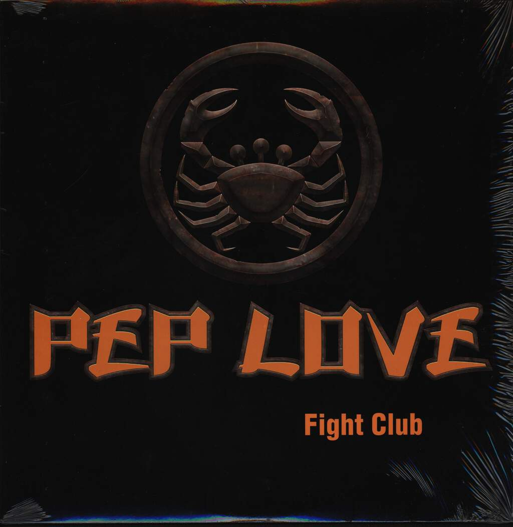 "Pep Love: Fight Club, 12"" Maxi Single (Vinyl)"
