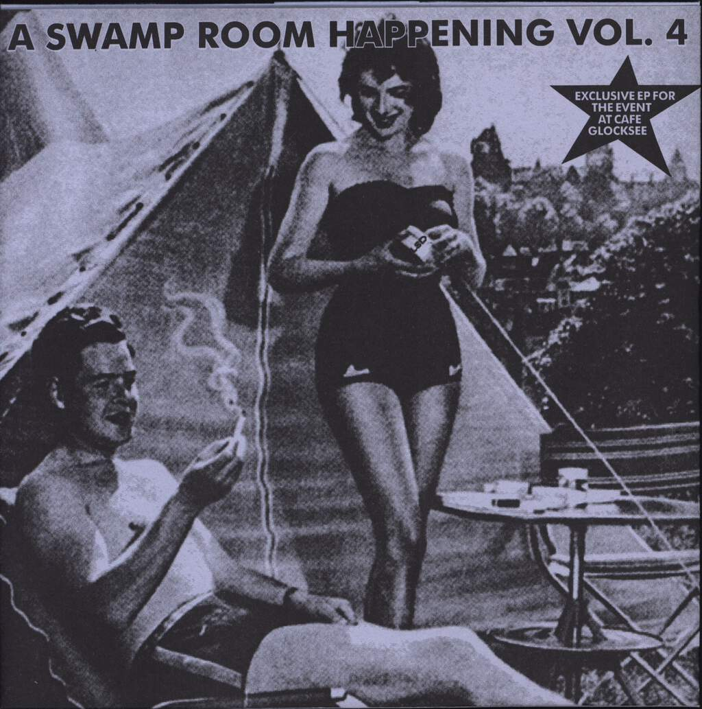 "Various: A Swamp Room Happening Vol. 4, 7"" Single (Vinyl)"