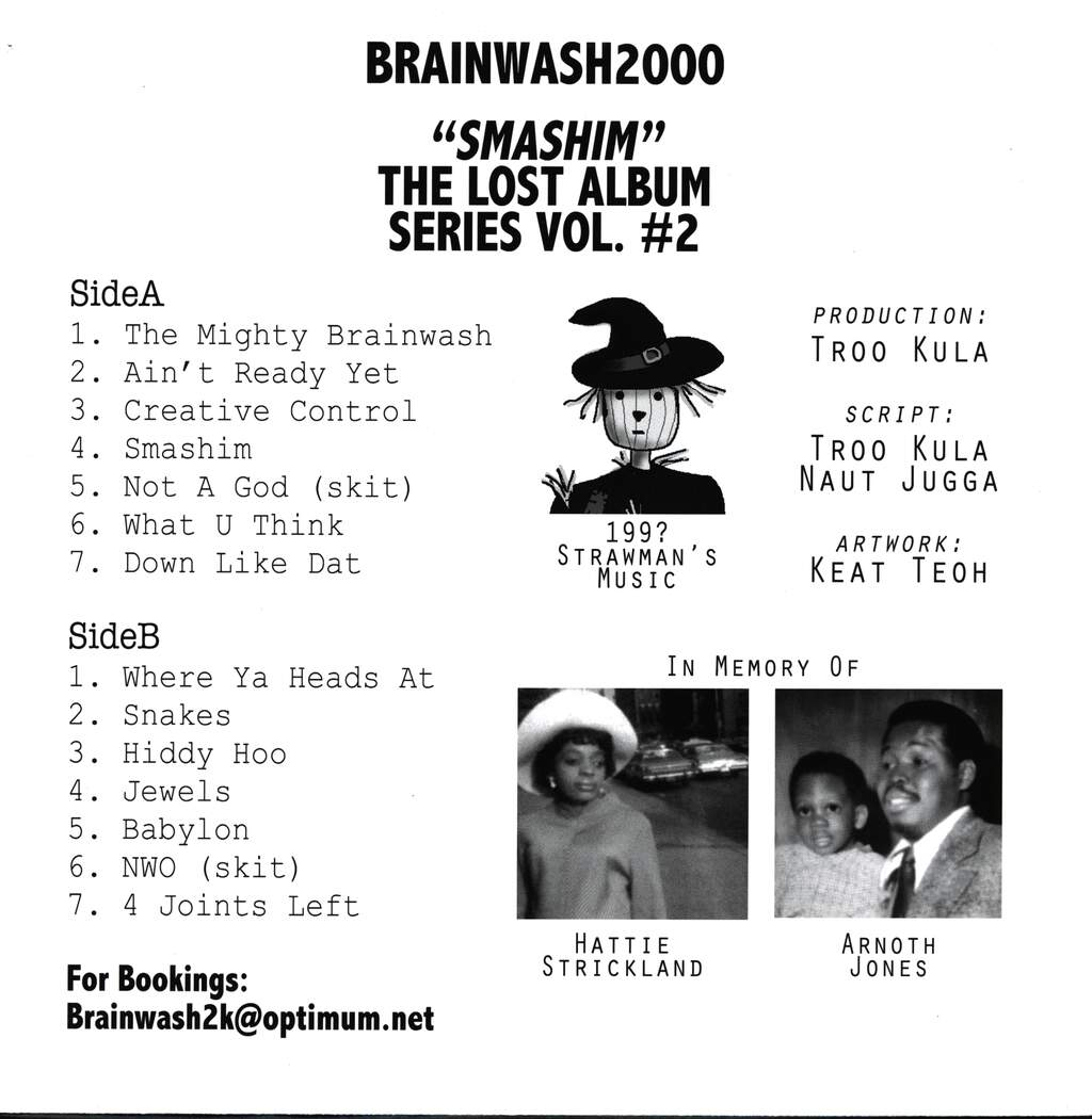 "Brainwash 2000: Lost Album Series Vol. 2 ""Smashim"", LP (Vinyl)"