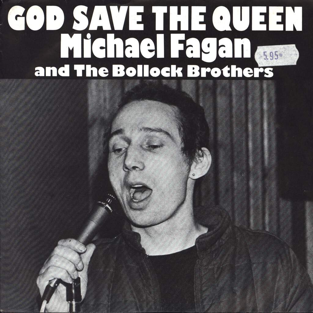 "Michael Fagan: God Save The Queen, 7"" Single (Vinyl)"