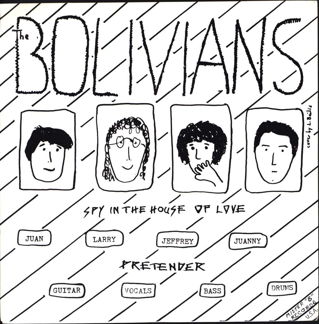 "The Bolivians: The Bolivians, 7"" Single (Vinyl)"