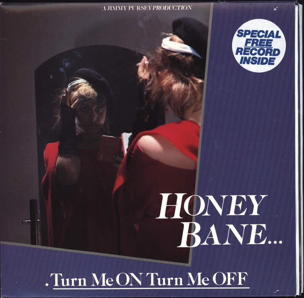 "Honey Bane: Turn Me On Turn Me Off, 7"" Single (Vinyl)"