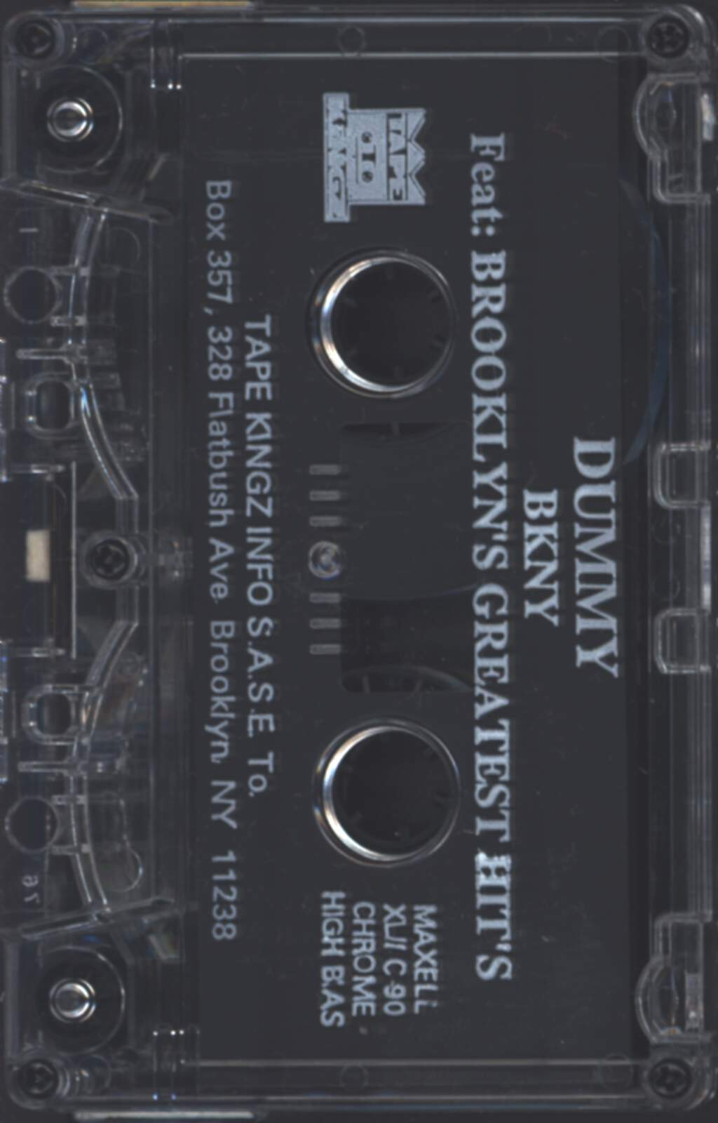 DJ Dummy: BKNY (Brooklyn's Greatest Hits), Compact Cassette