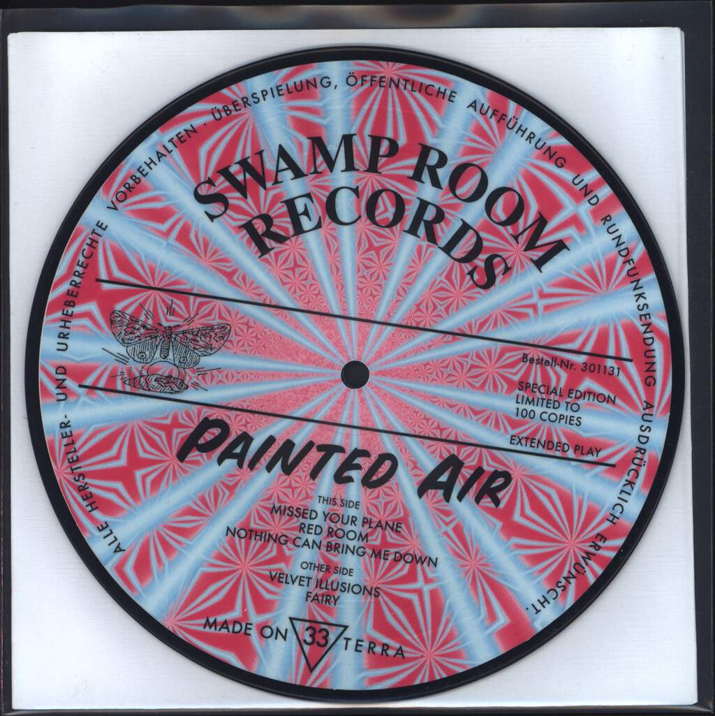 "Painted Air: Painted Air, 7"" Single (Vinyl)"