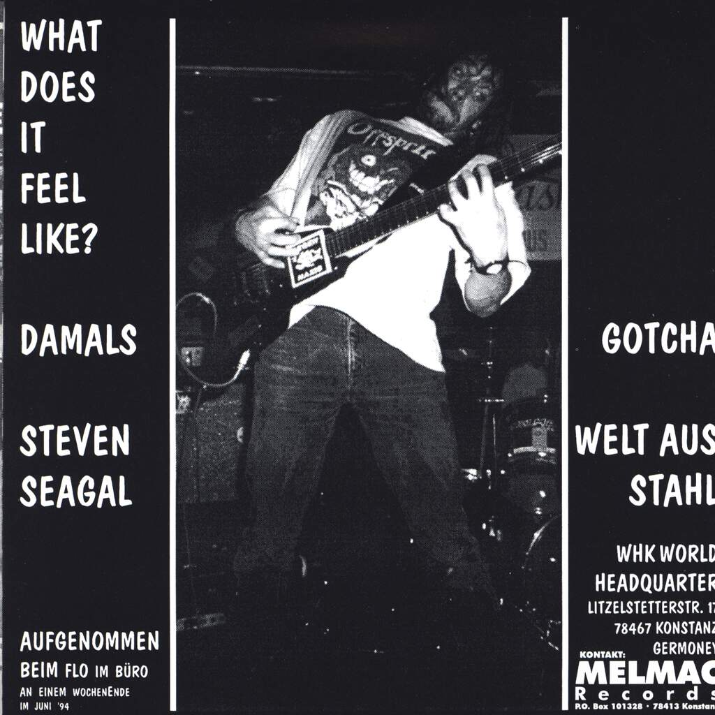 "Wir Haben Keinen: What Does It Feel Like ?, 7"" Single (Vinyl)"