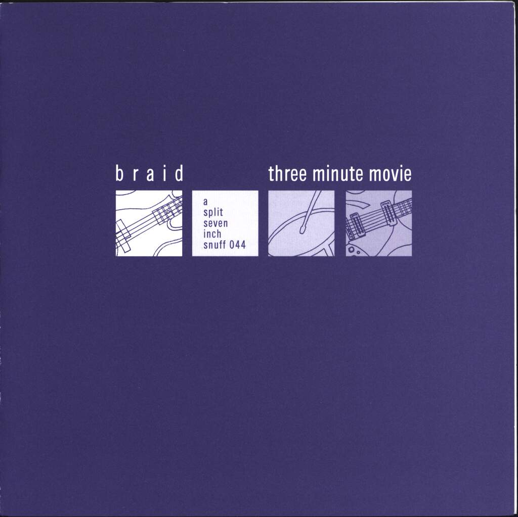 "Braid: A Split Seven Inch, 7"" Single (Vinyl)"