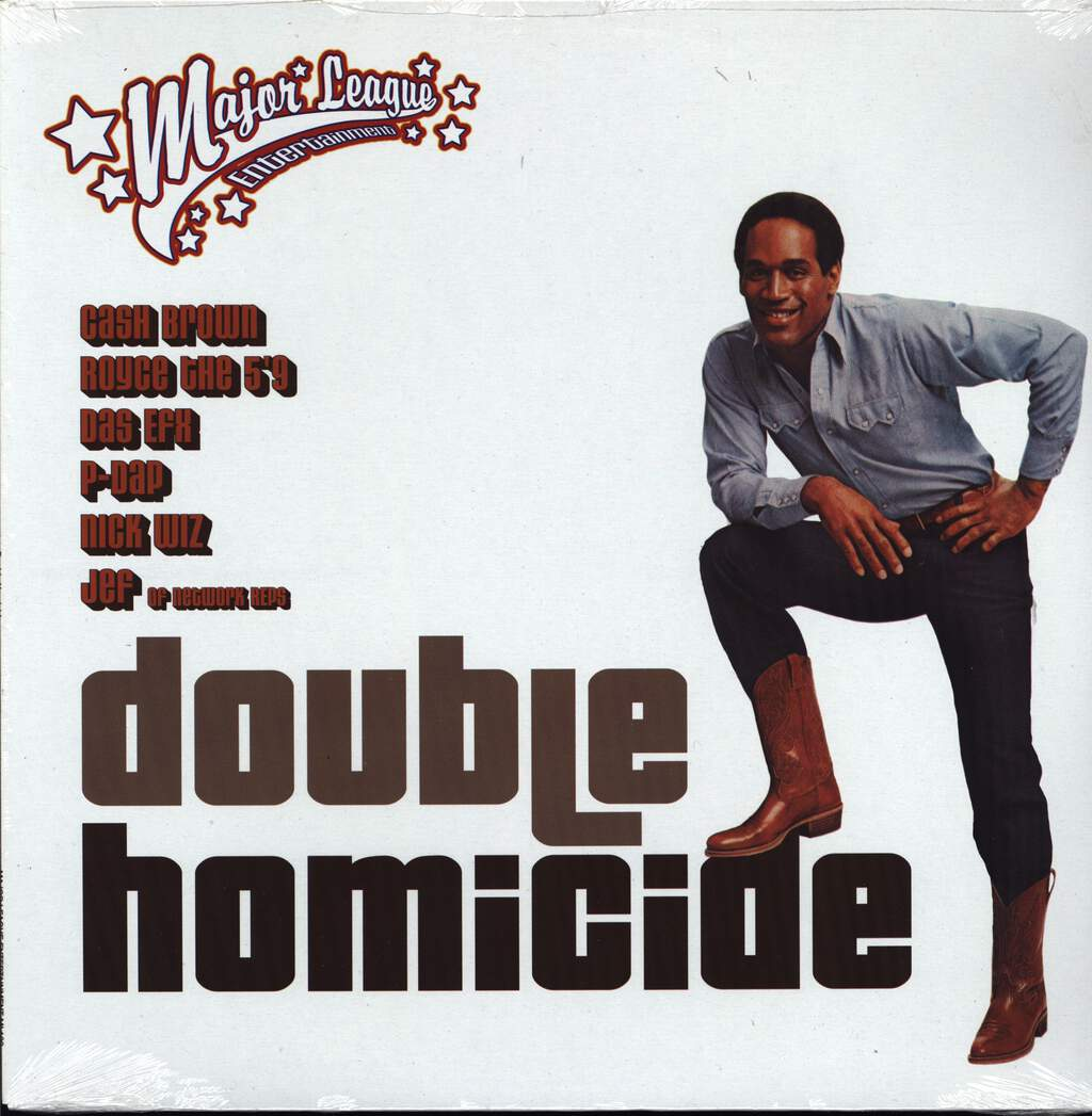 "Cash Brown: Double Homicide / Leave It Alone, 12"" Maxi Single (Vinyl)"