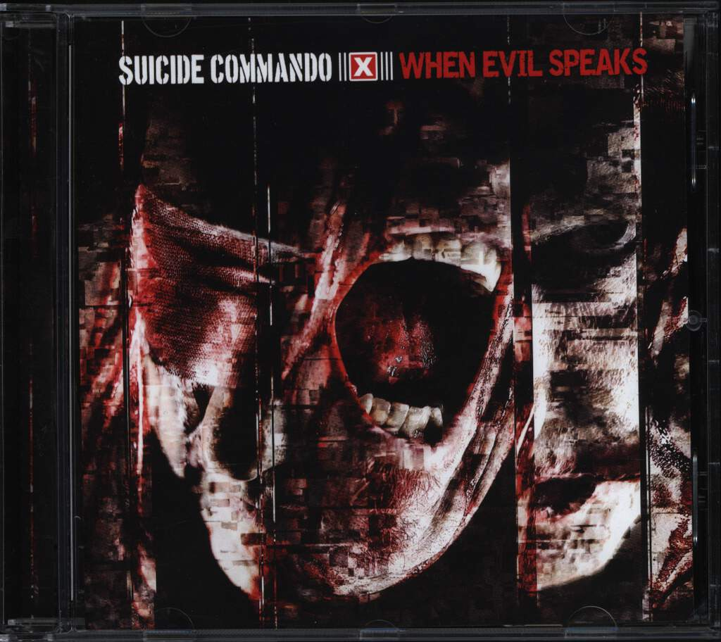 Suicide Commando: When Evil Speaks, CD