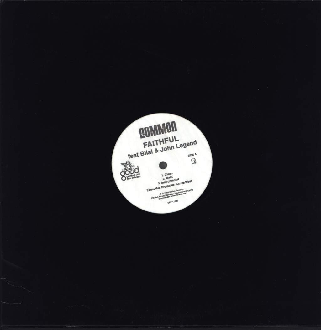 "Common: Faithful, 12"" Maxi Single (Vinyl)"