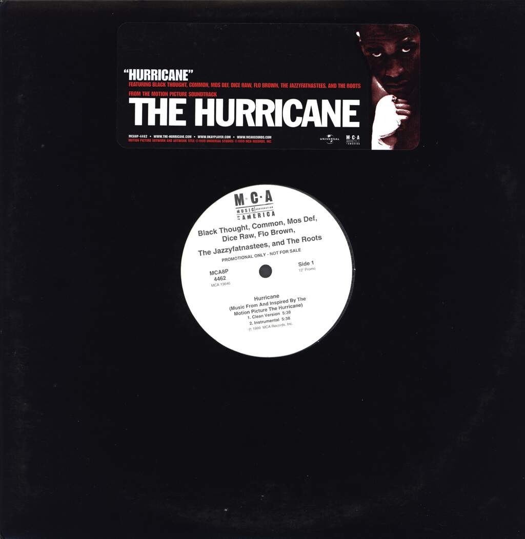 "Black Thought: Hurricane, 12"" Maxi Single (Vinyl)"