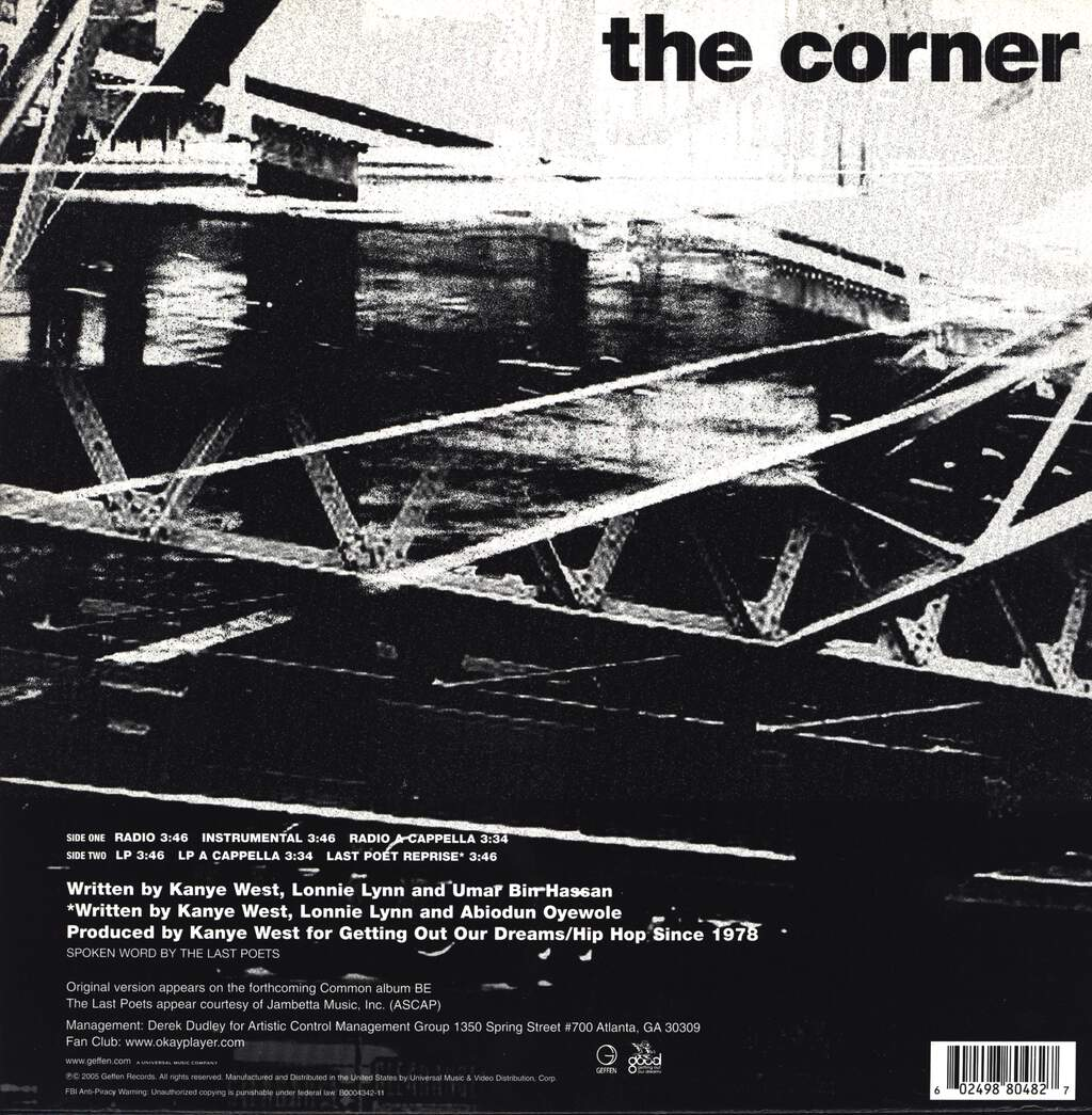 "Common: The Corner, 12"" Maxi Single (Vinyl)"