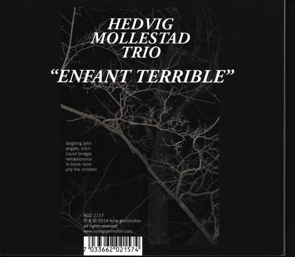 Hedvig Mollestad Trio: Enfant Terrible, CD