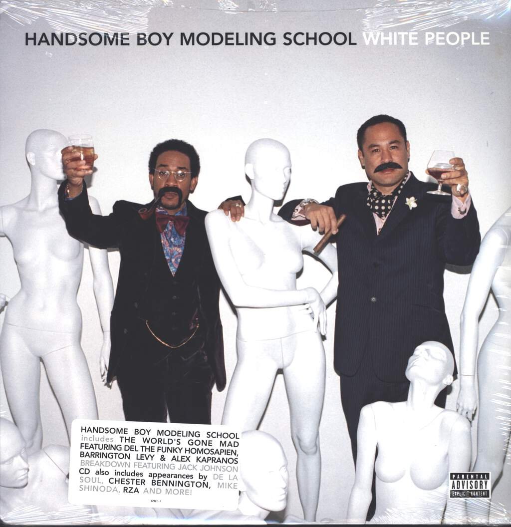 Handsome Boy Modeling School: White People, LP (Vinyl)