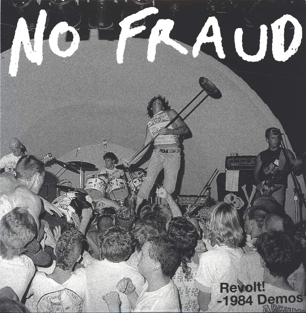 No Fraud: Revolt! - 1984 Demos, LP (Vinyl)