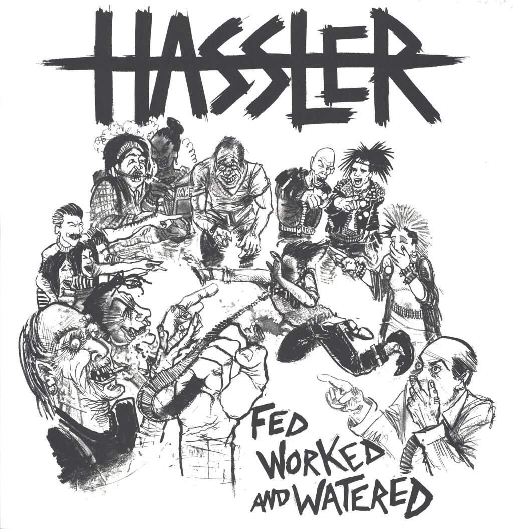 Hassler: Fed Worked And Watered, LP (Vinyl)