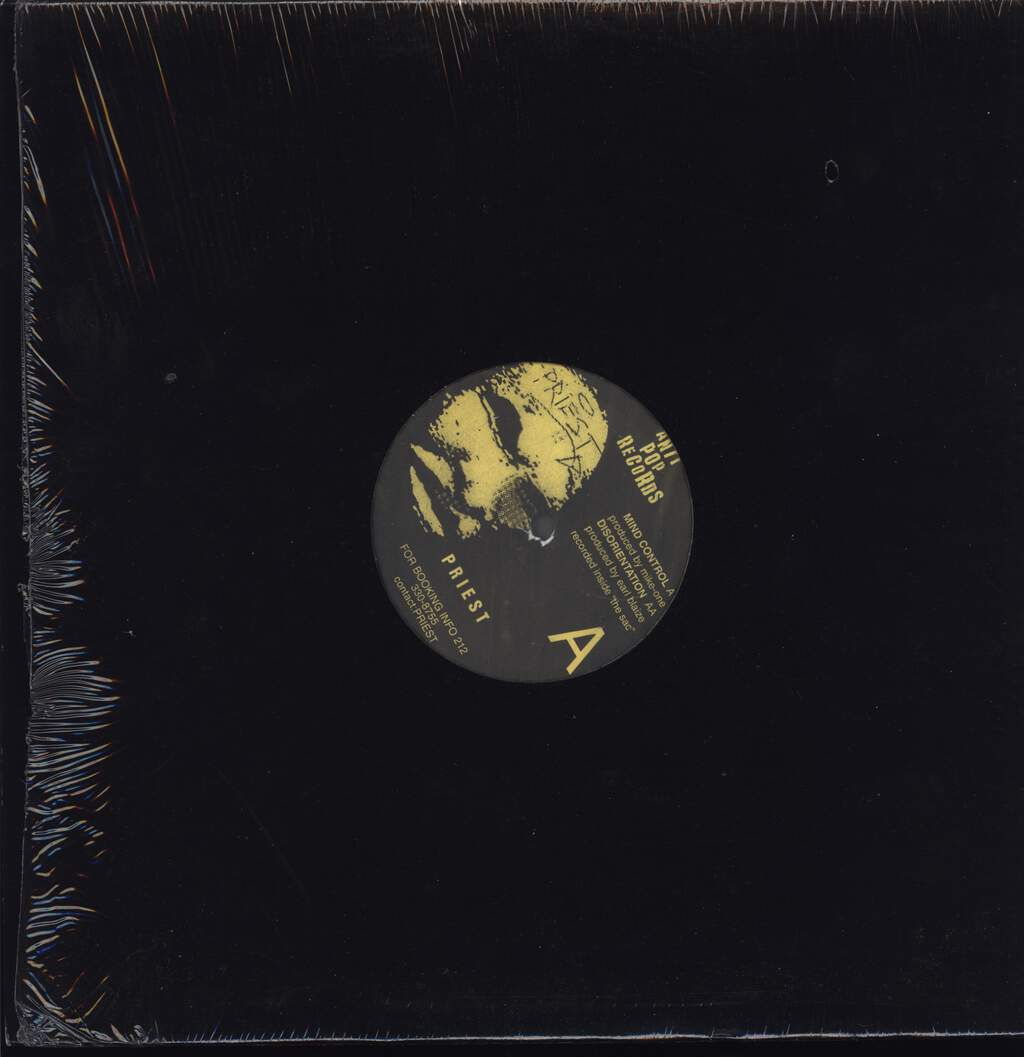 "High Priest: Mind Control / Disorientation, 12"" Maxi Single (Vinyl)"