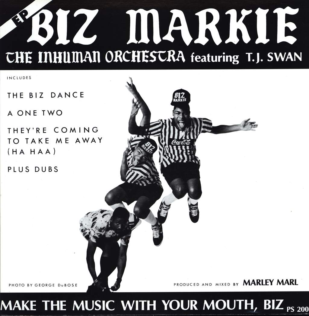 "Biz Markie: Make The Music With Your Mouth, Biz, 12"" Maxi Single (Vinyl)"