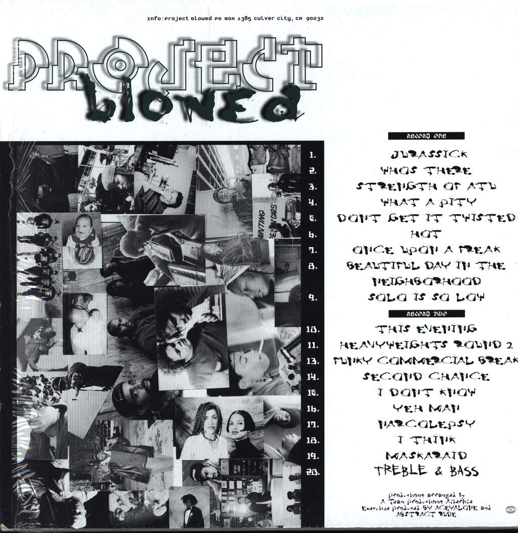 Various: Project Blowed, LP (Vinyl)