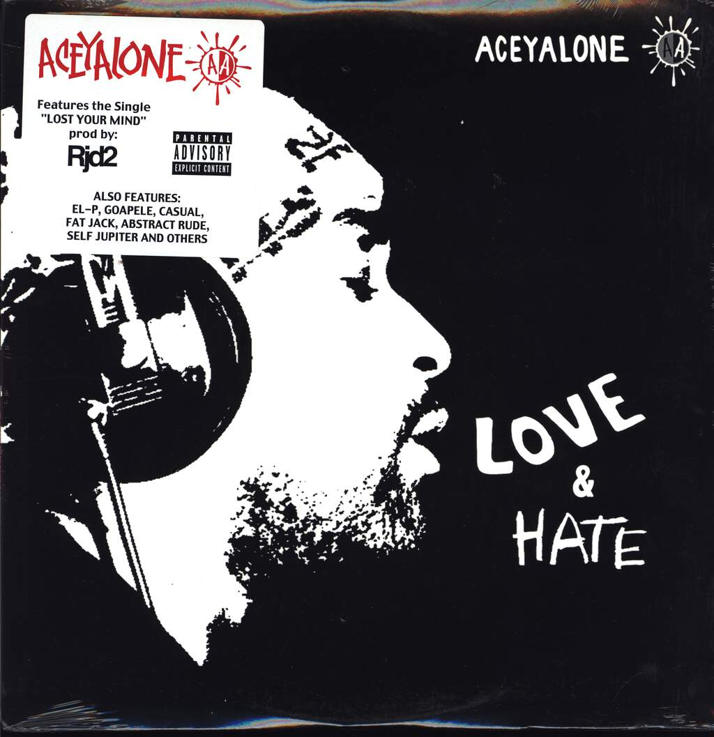 Aceyalone: Love & Hate, LP (Vinyl)