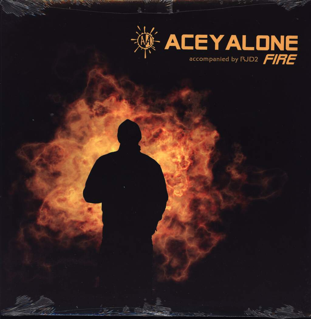 "Aceyalone: Fire, 12"" Maxi Single (Vinyl)"