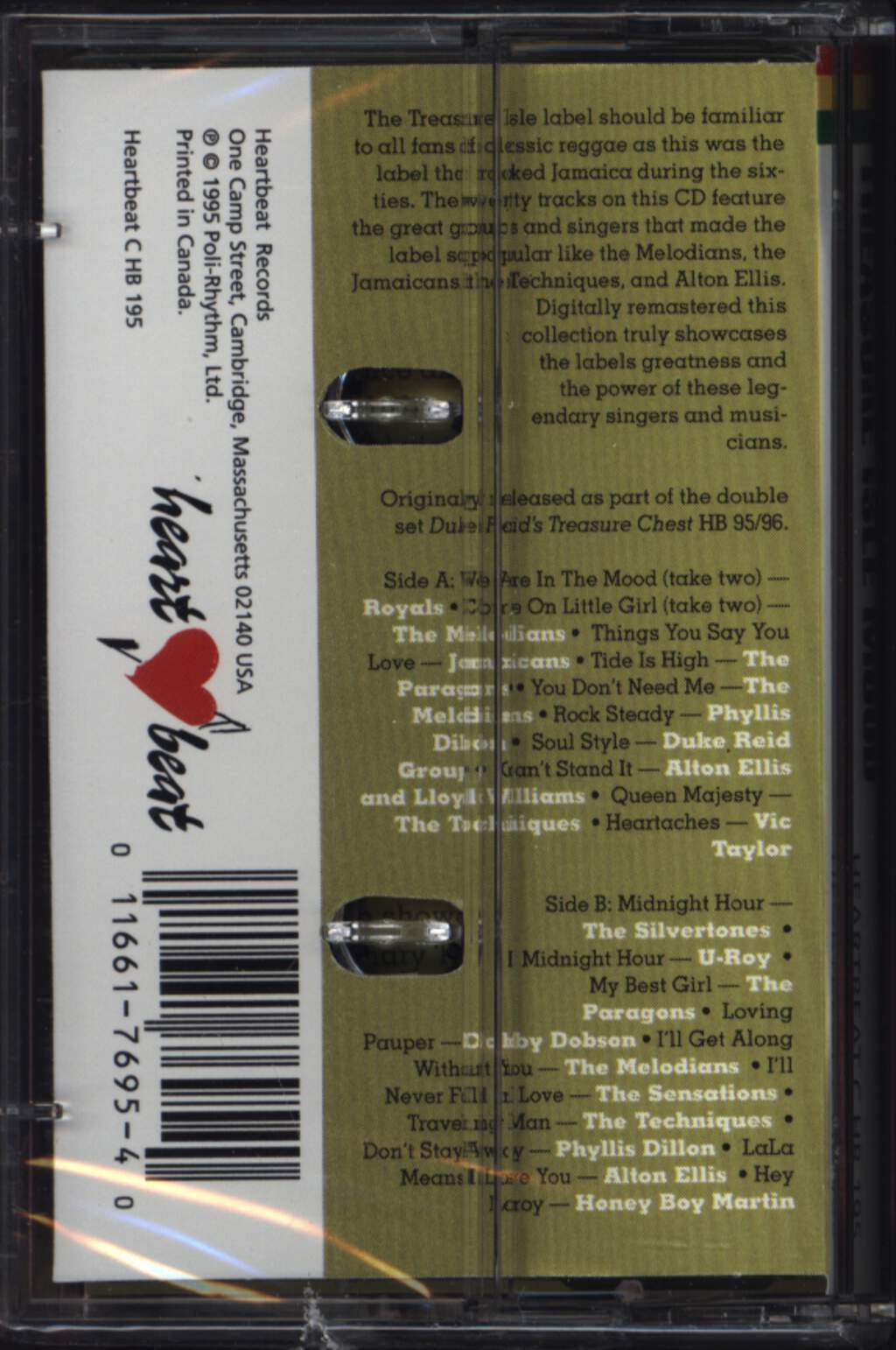 Various: Treasure Isle Mood, Compact Cassette