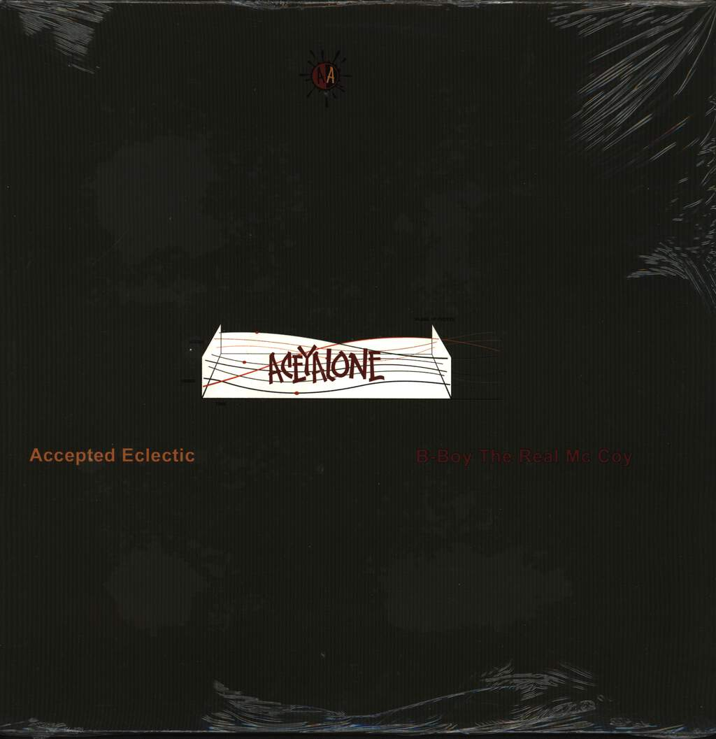 "Aceyalone: Accepted Eclectic / B-Boy The Real Mc Coy, 12"" Maxi Single (Vinyl)"