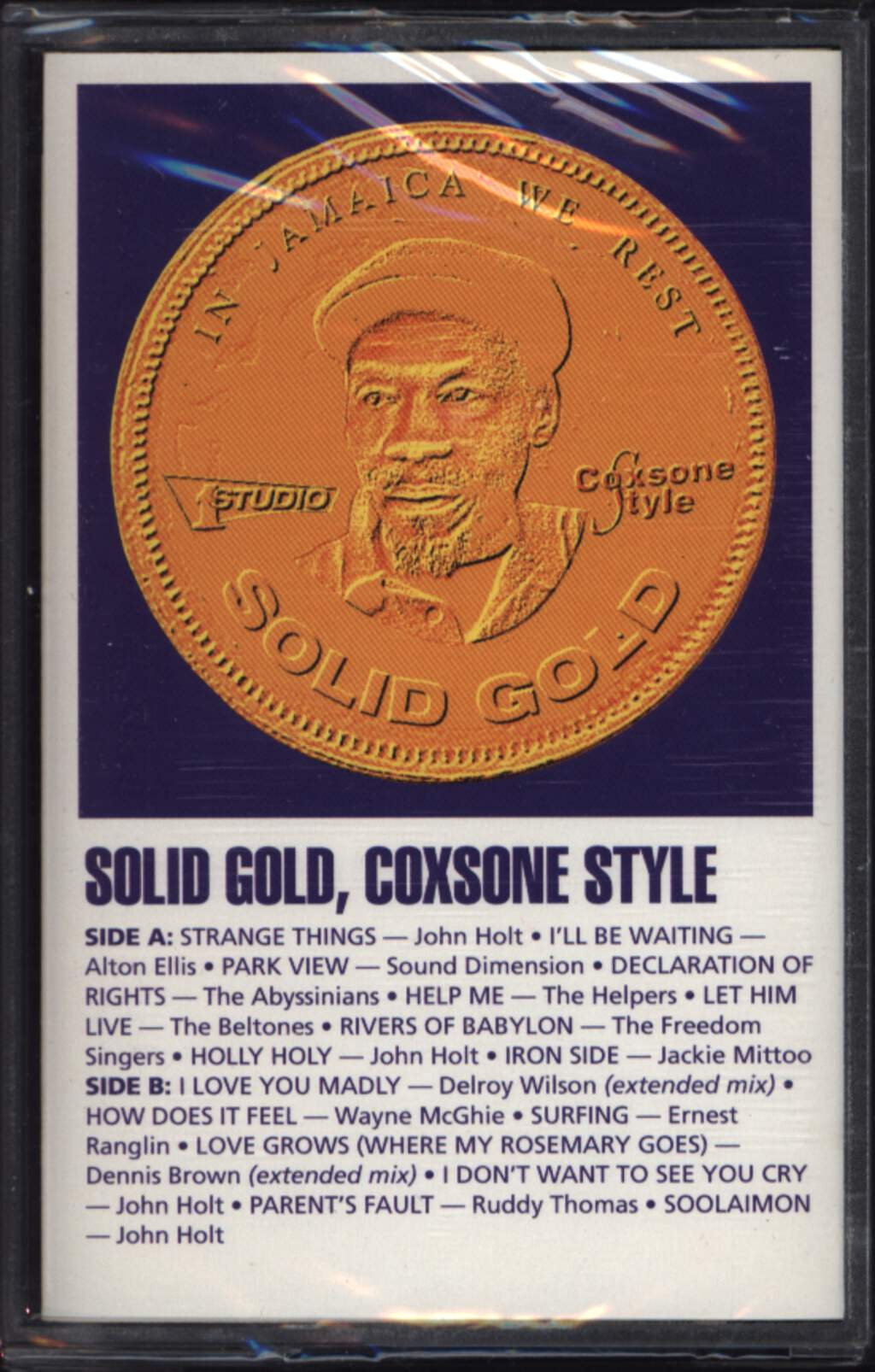 Various: Solid Gold, Coxsone Style, Compact Cassette
